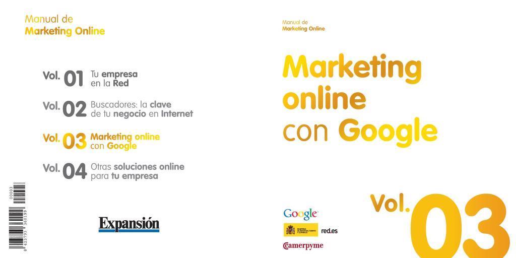 Marketing online con Google  Vol 3