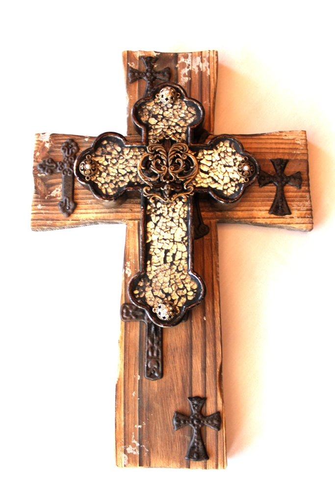 leora lane decor: NEW! The Rodeo Wall Cross