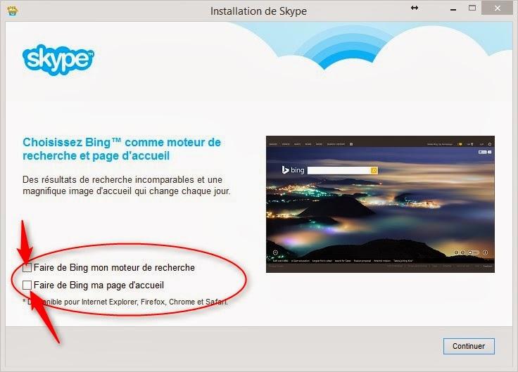 réparer page accueil internet explorer