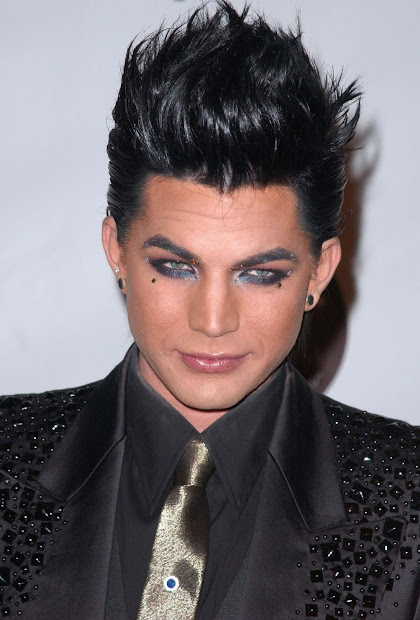 adam lambert hairstyle men hairstyles