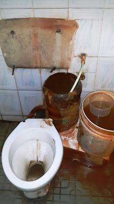 nta 5 toilet in victoria island lagos