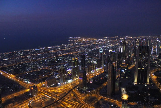 Dubai desde el Burj Khalifa