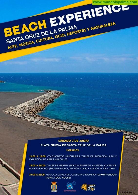 Beach experience en la Playa de Santa Cruz de la Palma, sábado 2 de junio
