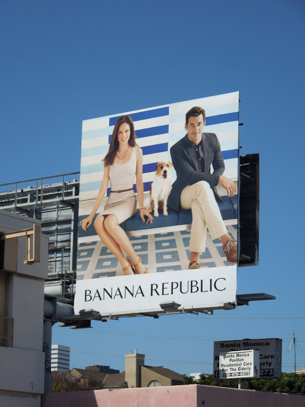 Banana Republic Summer 2012 billboard