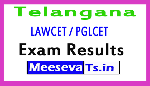 TS LAWCET / PGLCET Exam Results