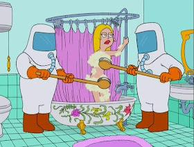 Lois griffin desnuda cerca coño