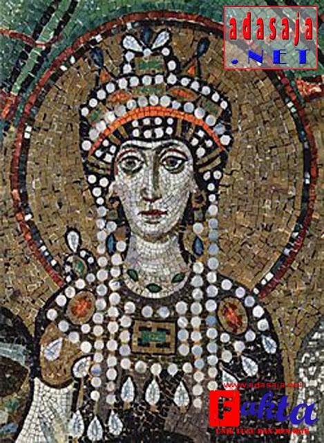 Theodora wanita penghibur yang menjadi permaisuri bizantium