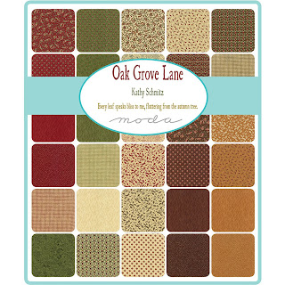 Moda Oak Grove Lane Fabric by Kathy Schmitz for Moda Fabrics