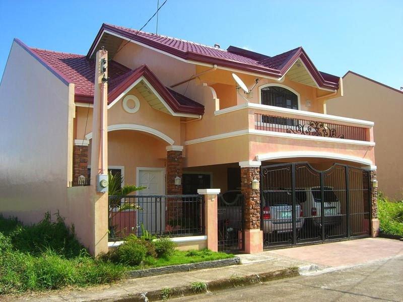 Fachada de casas de 2 pisos fachadadecasasmodernas for Casa moderna naga city prices