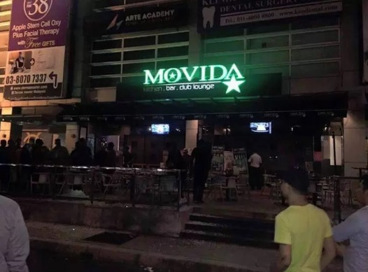 Detik Cemas Kelab Malam Kena Bom Di Puchong