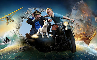 Tintin 3D Realistic Animation Movie HD Wallpaper