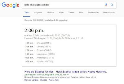 hora mundial google
