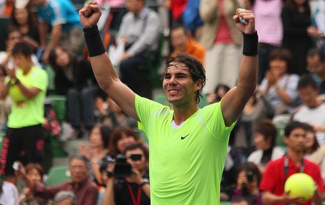 Mejores deportistas españoles Rafa Nadal