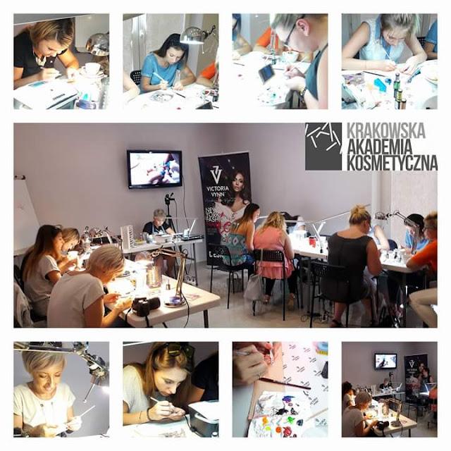 Relacja ze szkolenia w Centrum Szkoleniowe Victoria Vynn - Krakowska Akademia Kosmetyczna.