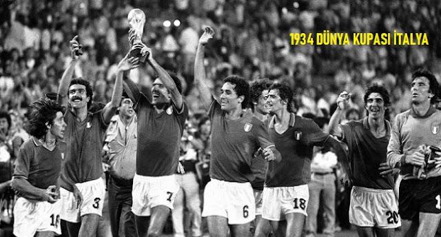 Dünya Kupası'nın Geçmişten Günümüze Kadar Olan Tarihçesi 1934 İtalya - Kurgu Gücü