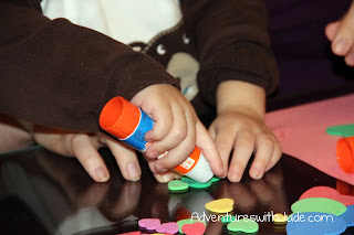 Little hands working