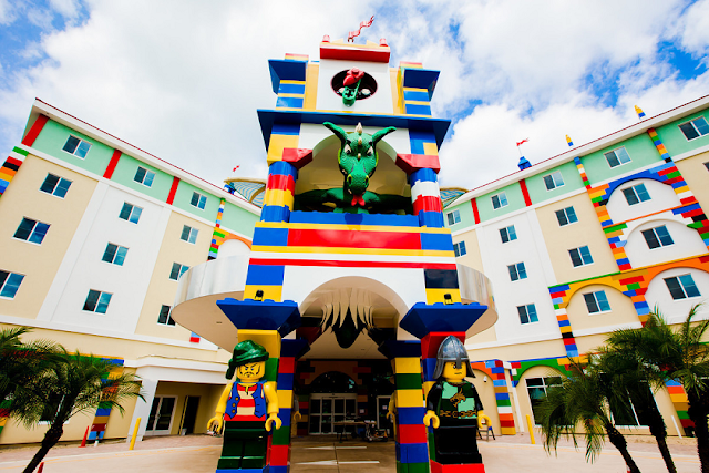 Atracciones del parque Legoland para niños y adultos