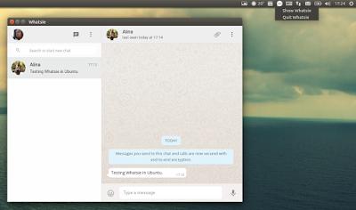 WhatsApp Linux Whatsie
