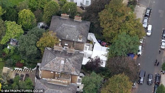 la casa de paul mccartney en londres desaparece del servidor google street view. Black Bedroom Furniture Sets. Home Design Ideas