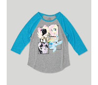 Girls' My Little Pony® 3/4 Sleeve Raglan T-Shirt - Heather Gray