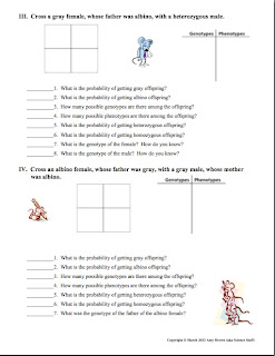 Amy Brown Science: Free Monohybrid Genetics Practice ...