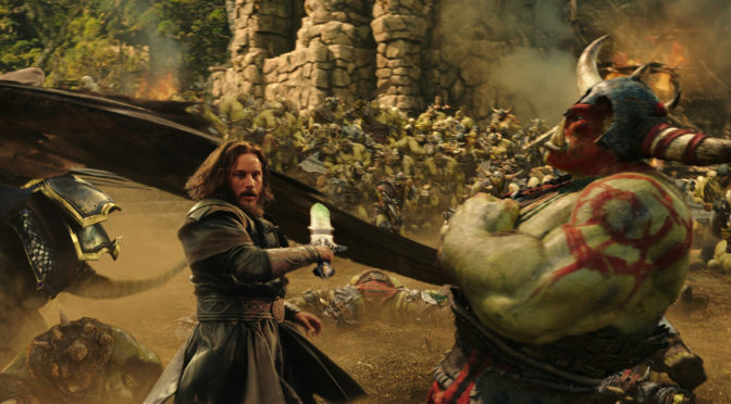 Warcraft movie release date in Auckland