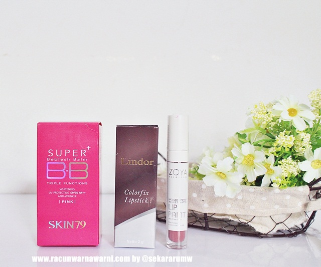 BB Cream Skin79 And Lipstik