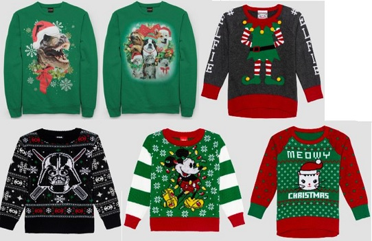 Ugly Holiday Sweaters at Target