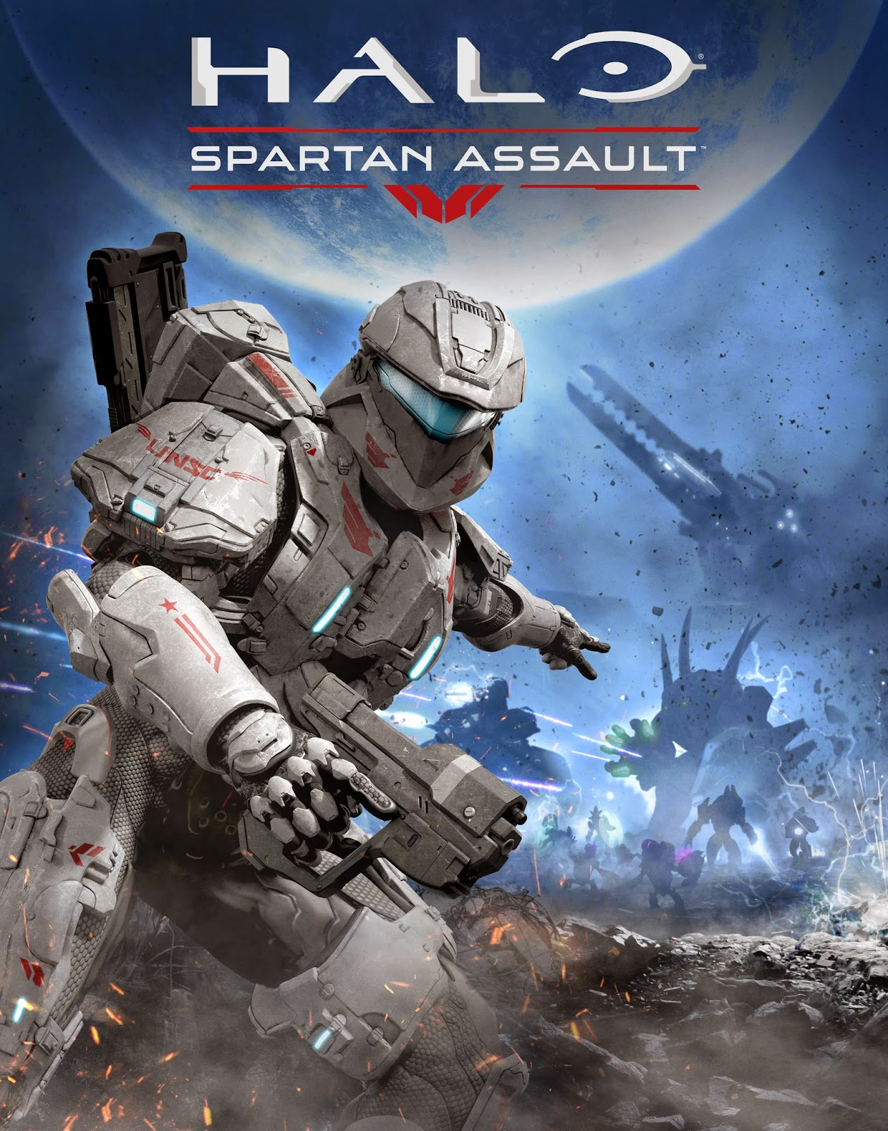 Cover Caratula Halo Spartan Assault PC