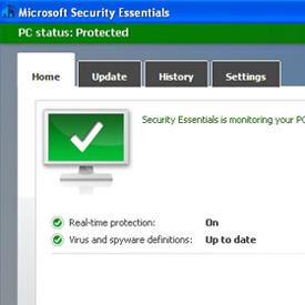 Microsoft Antivirüs