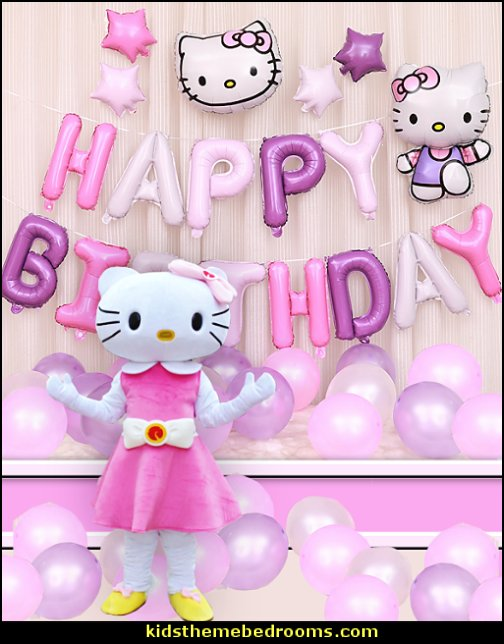 Hello Kitty Mascot Costume Party   hello kitty party supplies - hello kitty party decorations ideas - Hello Kitty party decor - Hello Kitty balloons - hello kitty cake - Hello Kitty party table decorations - Hello Kitty cupcakes - Hello Kitty themed party - Hello Kitty Costume