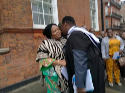 Gov. Rochas Okorocha's First Son Afamefula Bags Masters Degree From Imperial College London 2
