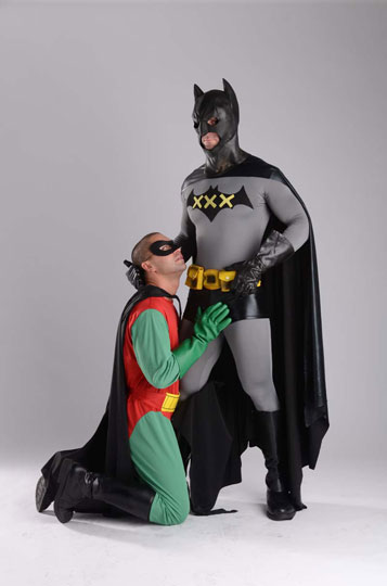 Phrase, batman and robin spoof porno