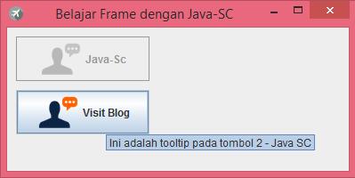 Gambar 5 - jButton Pada Komponen Swing Di Java
