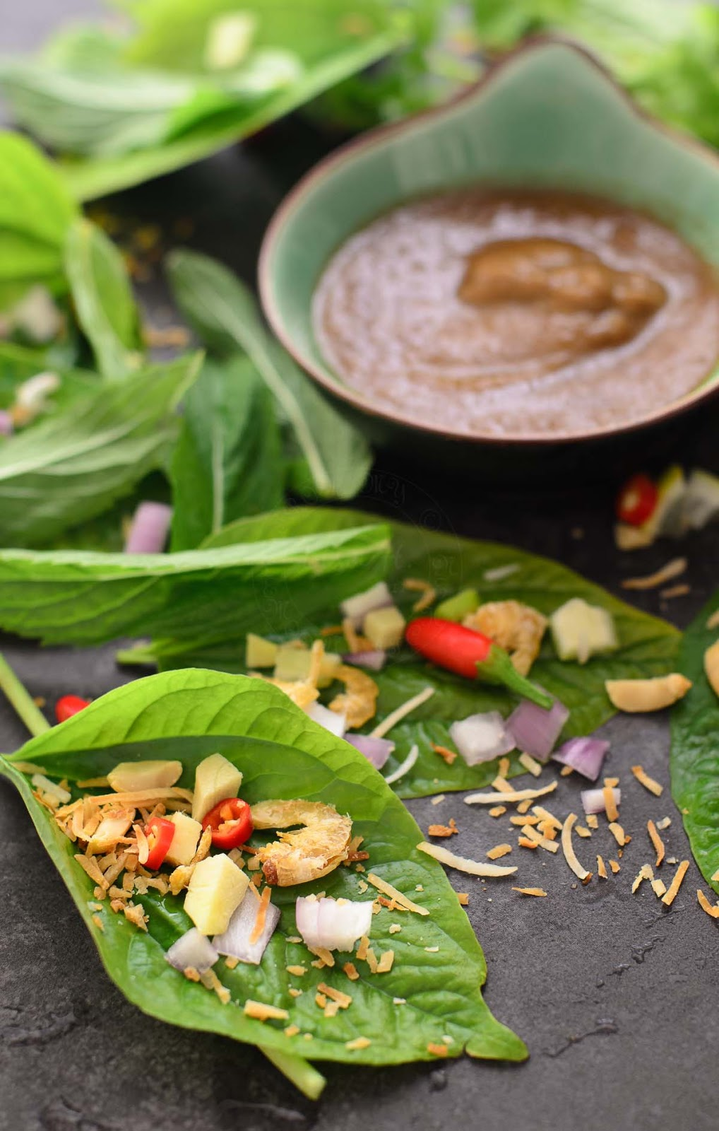 Fresh and delicious Miang Kham
