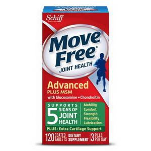 Thuốc bổ khớp Schiff Move Free Advanced Plus MSM-Glucosamine Chondroitin Hàng Xách Tay Từ Mỹ