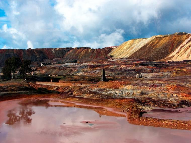 Cuenca minera de rio tinto cuenca minera de rio tinto, rio tinto espana