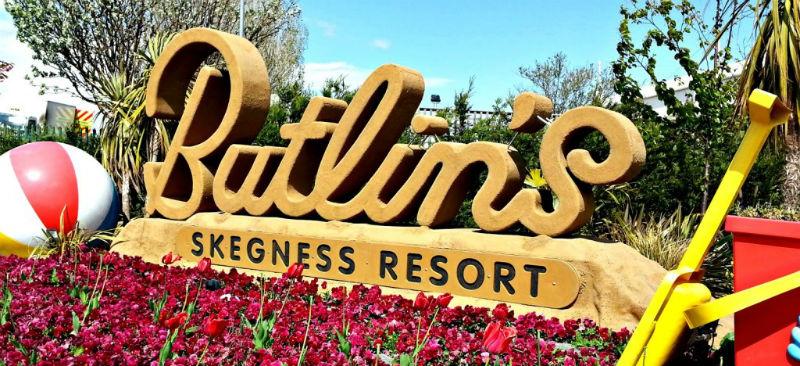Butlins Skegness welcome sign