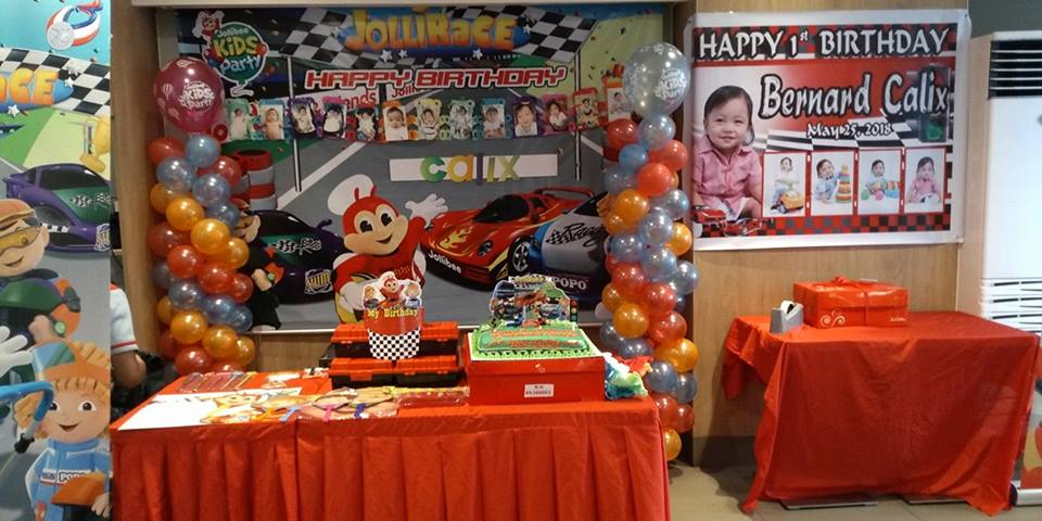 Jollibee Party Ideas Sample For First Birthday Get Layout