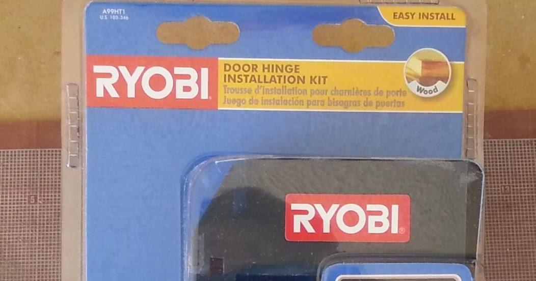 Az Diy Guy S Projects Review Ryobi Door Hinge Template