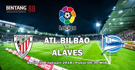 Prediksi Athletic Bilbao vs Deportivo Alaves 8 Januari 2018