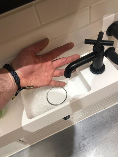 What Is This?! A Sink For Ants?!
