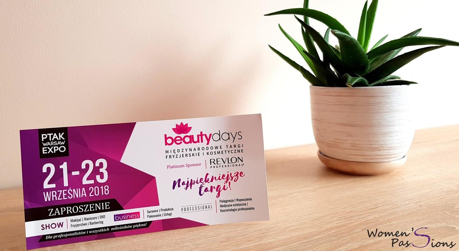 Beauty Days Zaproszenie na Międzynarodowe Targi Fryzjerskie i Kosmetyczne