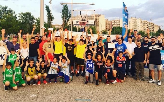 Ολοκληρώθηκε το τουρνουά 3on3 «Τάπα στη βία και τον Ρατσισμό» της Θεσσαλονίκης-Πλακέτα σε μνήμη του Γιώργου Βράγγα-Οι νικητές όλων των κατηγοριών-Φωτορεπορτάζ
