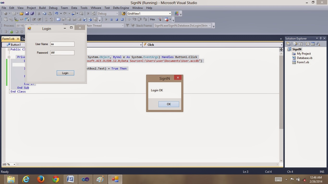 Easy Way To Access Database With Visual Basic By