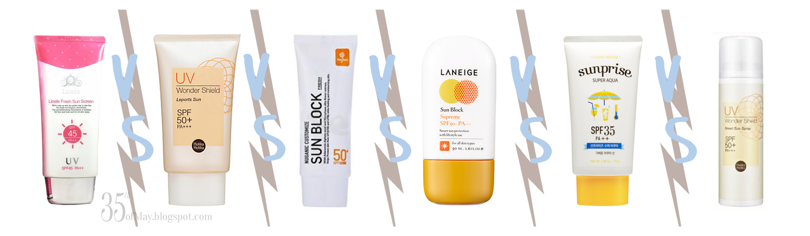 Korean Sunscreen Showdown Part I