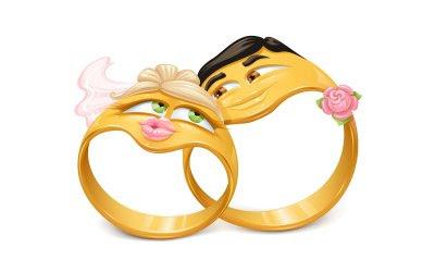 imagenes para coleccionar anillos de compromiso con caritas de