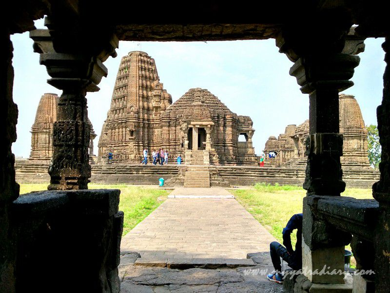 View of the off beat Gondeshwar Temple in Sinnar near Nashik, Maharashtra