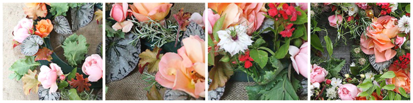 Ioanna's Notebook - DIY Floral Wreath - Step 3