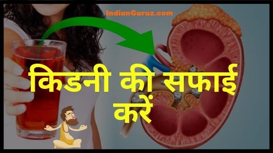 किडनी की सफाई कैसे करें | How to Detox Kidneys in Hindi